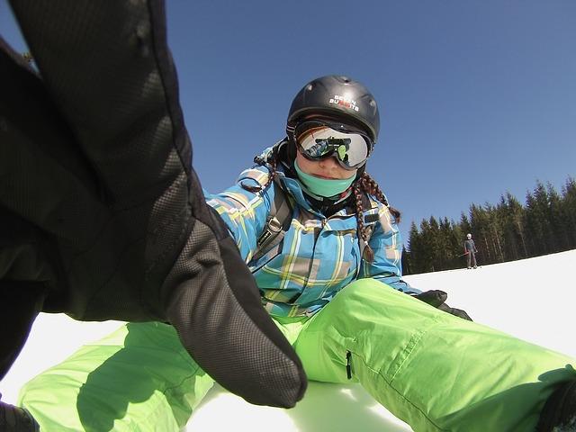 snowboardistka